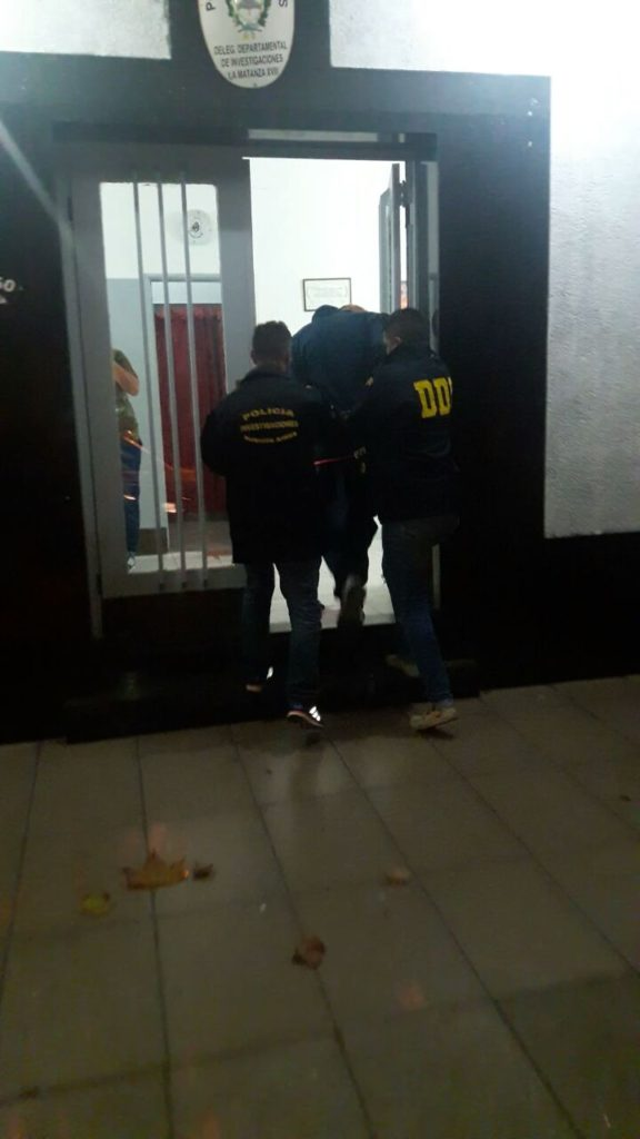 detencion crimen La Matanza